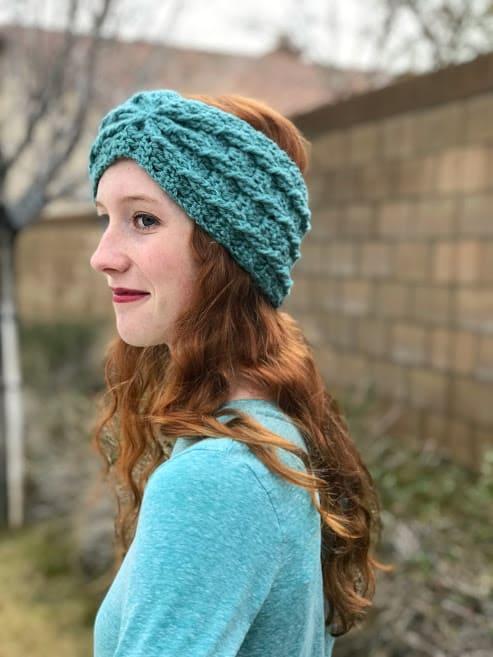 ear warmer crochet Christmas gift