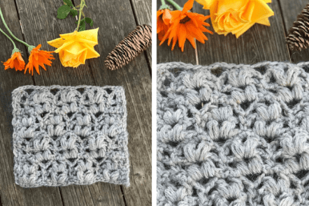 How to Crochet the Wheat Stitch