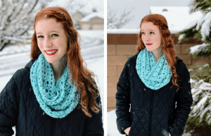 My Favorite Crocheted Winter Scarf—The Icicle Infinity