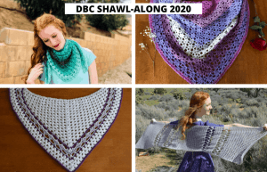 crochet shawl along March 2020