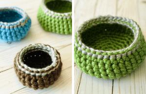 Crochet Basket Pattern in 3 Sizes - Free & Easy!
