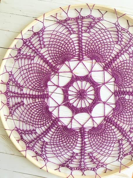 Lace Mandala Crochet Pattern (Free!)