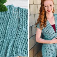 Juniper Cardigan - Lace Crochet Cardigan Pattern for Summer