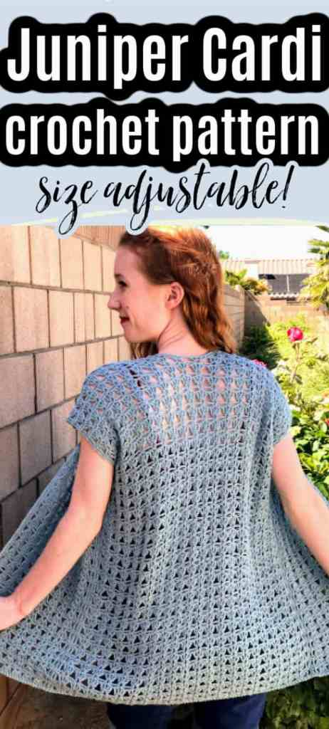 Juniper Cardigan - Lace Crochet Cardigan Pattern for Summer