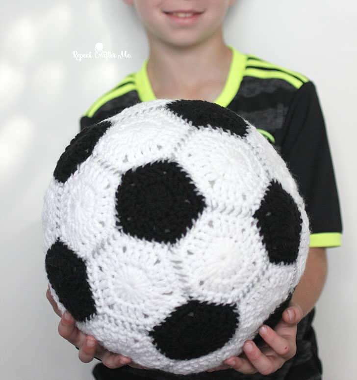 crochet soccer ball for kids Christmas
