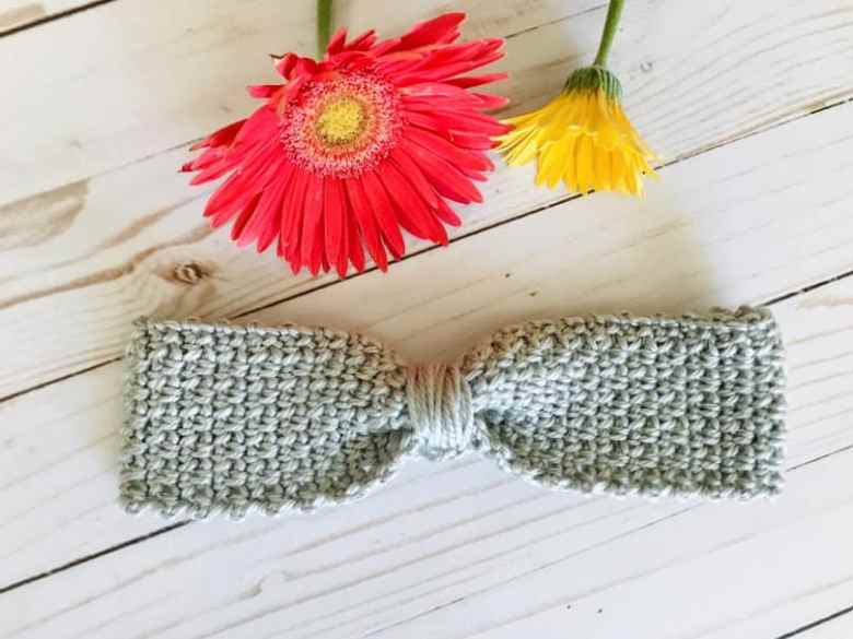 Crochet Headband Pattern for Girls
