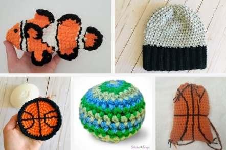 Crochet for Boys - 7 Free Crochet Patterns You Need