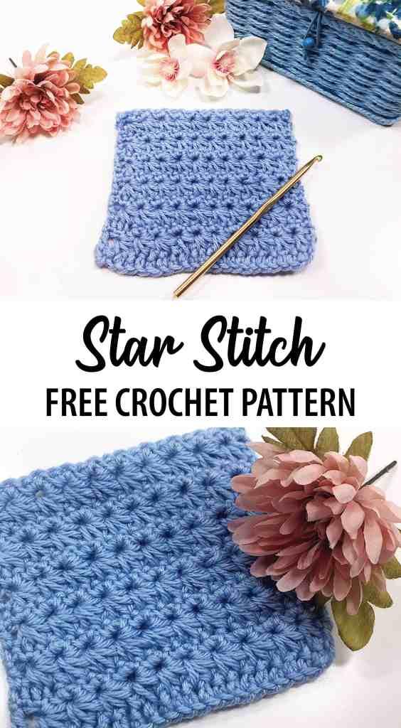 Star Stitch  free crochet pattern