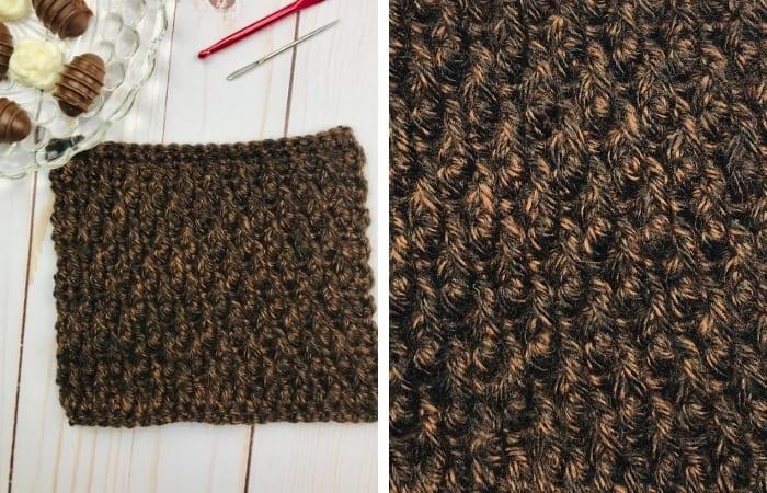 Alpine Stitch - Textured Crochet Stitch for Scarves