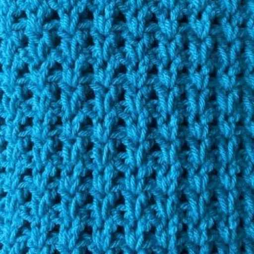 paired double crochet stitch