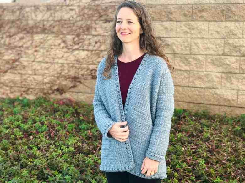 crochet sweater for ladies