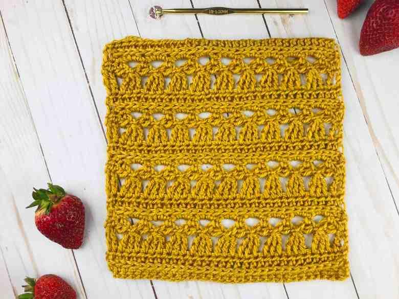 Crochet Lace Square Pattern - free