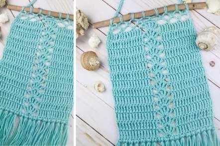 Seaside Wall Hanging - Free Crochet Pattern