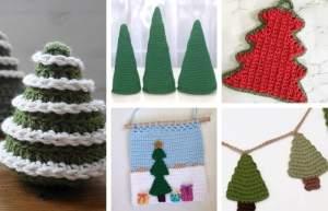 15+ Christmas Tree Inspired Crochet Patterns