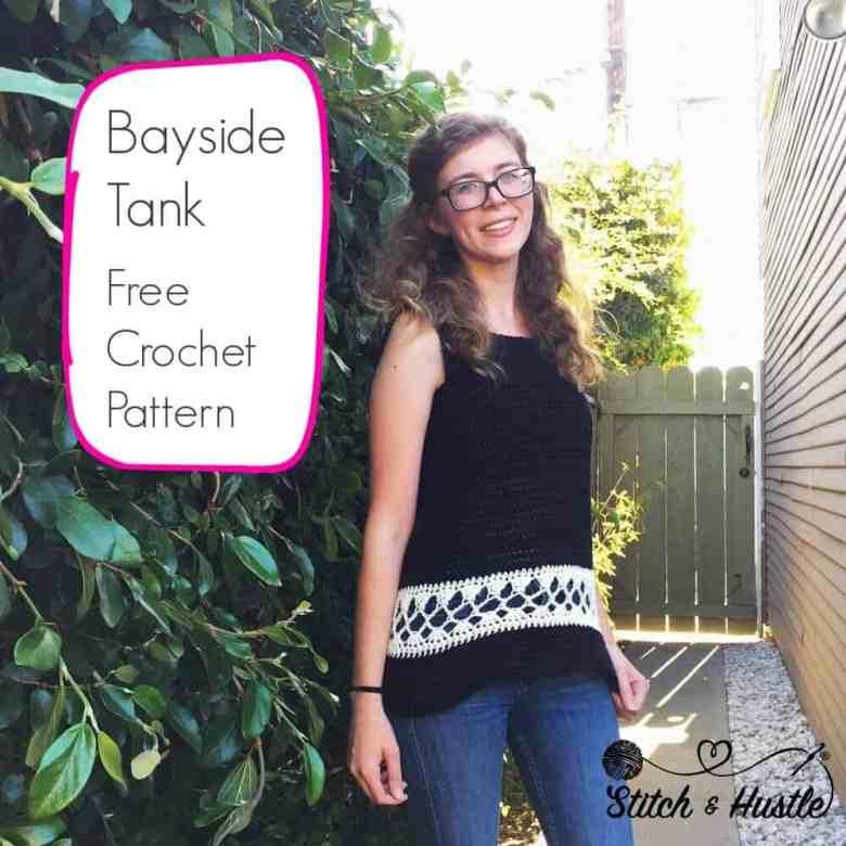 Bayside crochet tank top
