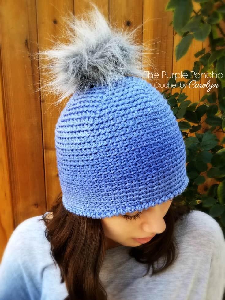 Ombre Beanie Crochet Pattern