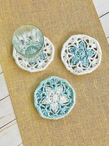 Beautiful Crochet Coaster Pattern