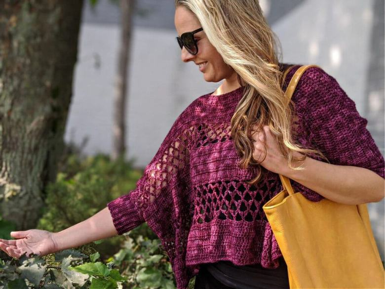 Cropped Pullover Crochet Pattern