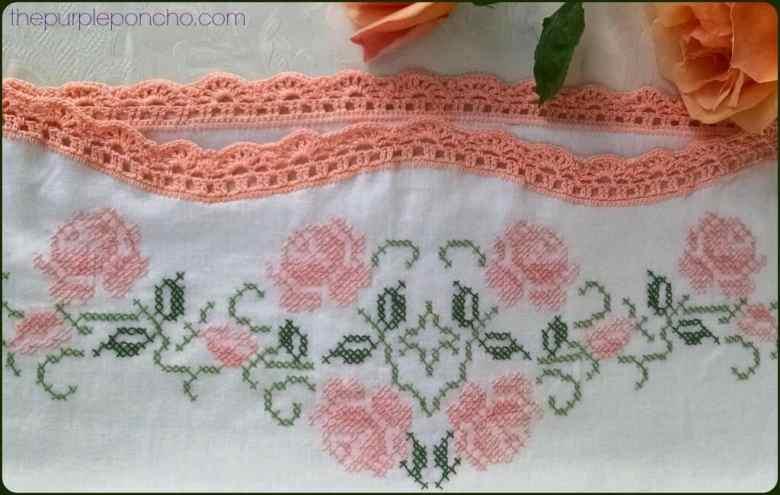 Vintage Crochet Border