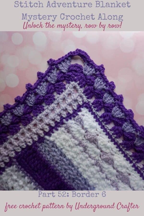 Easy crochet border pattern