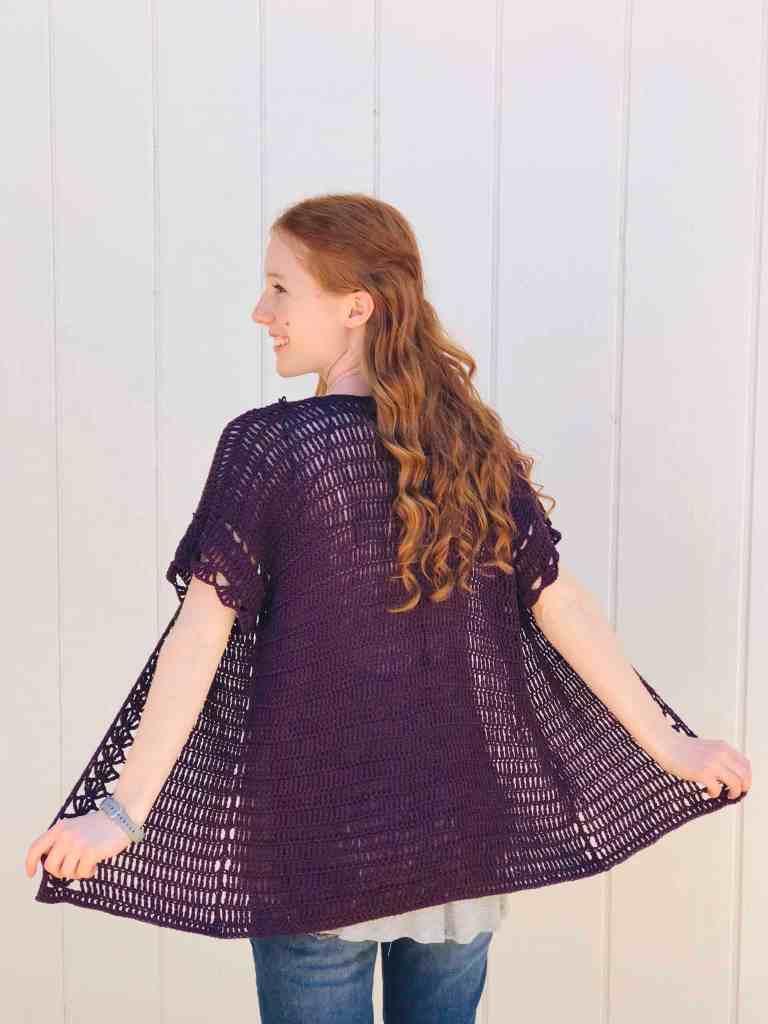 Midsummer Crochet Cardigan - Free Crochet Pattern