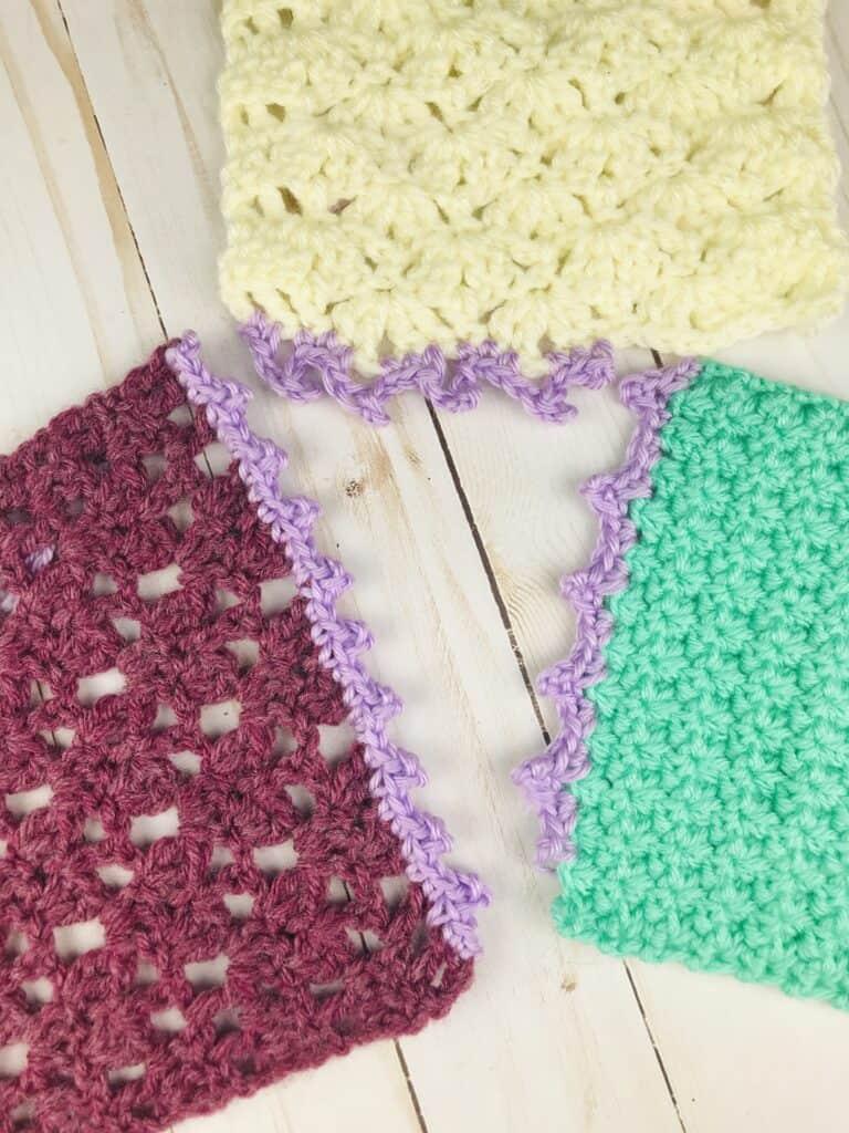 Picot Stitch Edgings