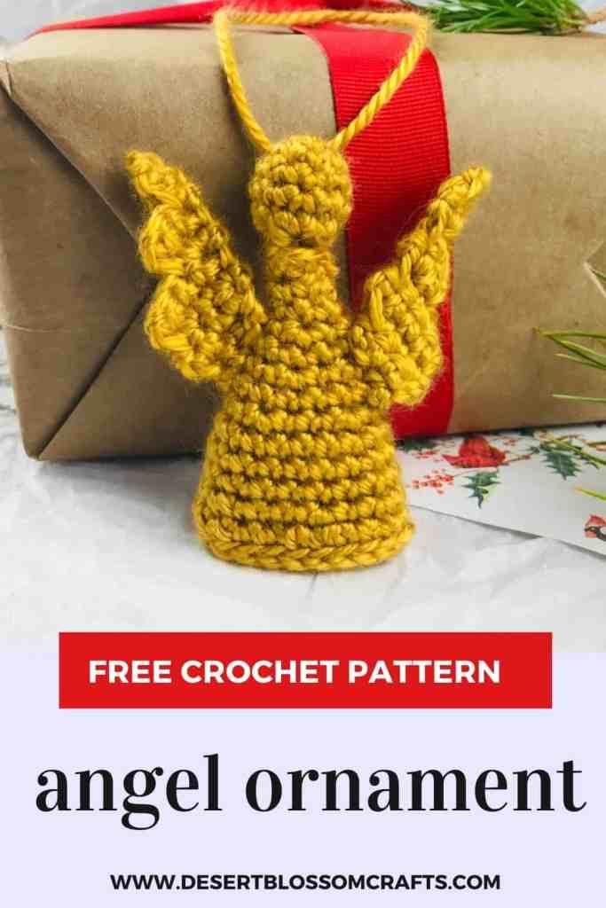 Beau motif d'ange au crochet - GRATUIT ET FACILE