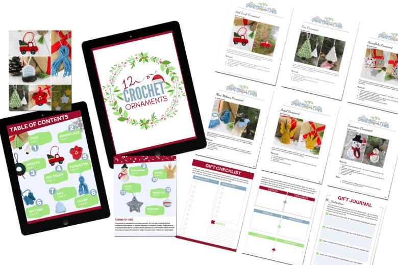 Crochet Christmas Ornament Ebook