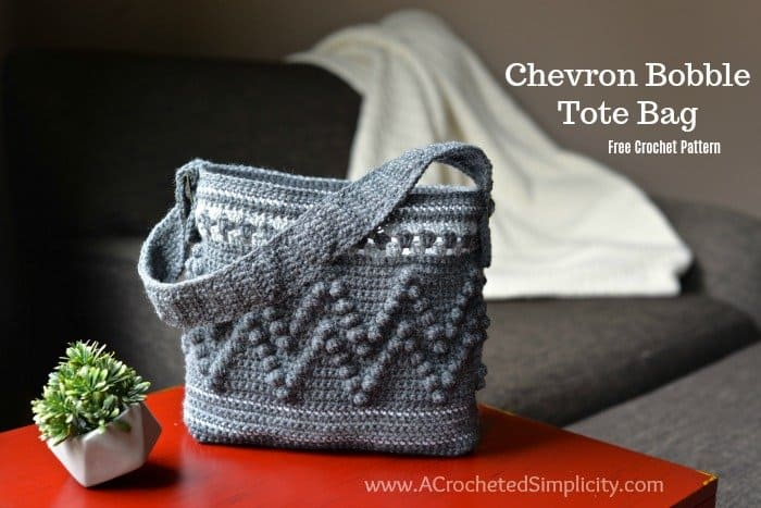 Chevron Bag Crochet Pattern