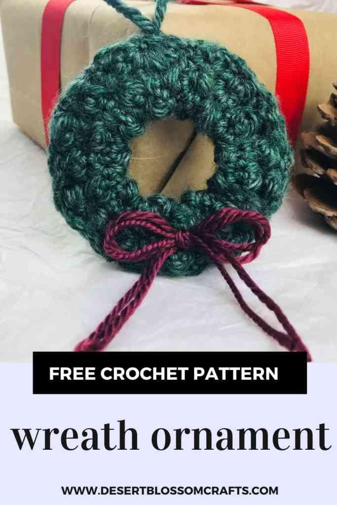 Unique Crochet Wreath Ornament Pattern