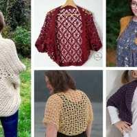 18 Modern and Stylish Crochet Shrug Patterns