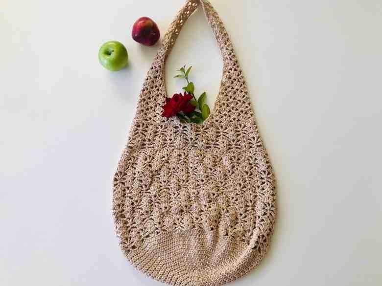 Easy Crochet Grocery Bag Pattern
