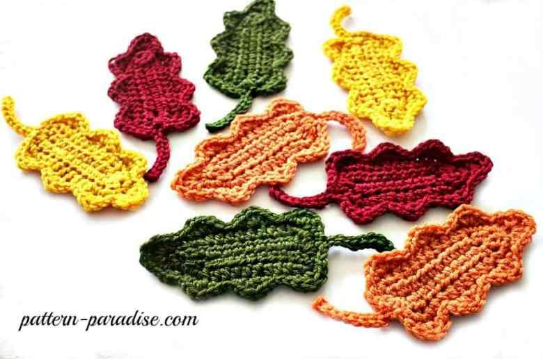 Oak Leaves Crochet Pattern