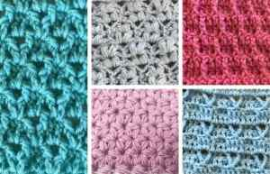 Ultimate List of Textured Crochet Stitches