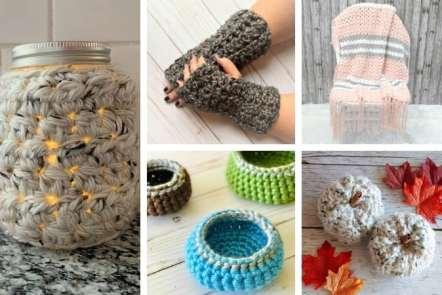 16 Hometown USA Yarn Crochet Patterns