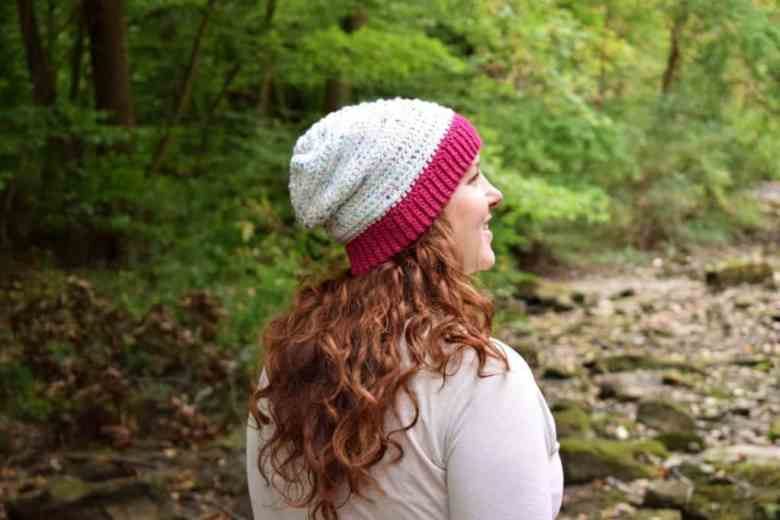 I Love this Yarn Slouchy Hat Pattern