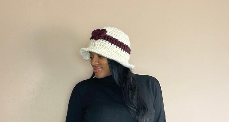 Wool Ease Thick & Quick Brimmed hat pattern