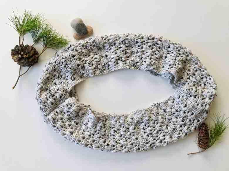 Extra Cozy Crochet Infinity Scarf Pattern