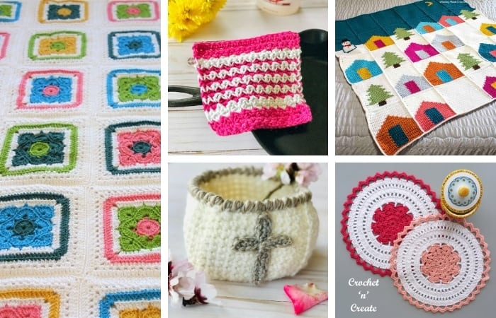 12+ Crochet Gifts for Grandma - Free Elderly Crochet Patterns