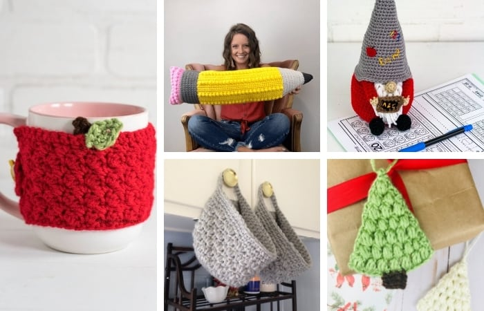 15+ Crochet Gifts for Teachers - All Free Patterns