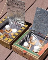 Explore STEM this summer with solar oven smores