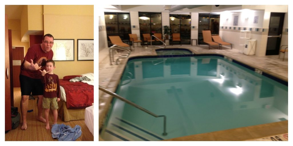 Indoor Pool and Spa Courtyard by Marriott Flagstaff