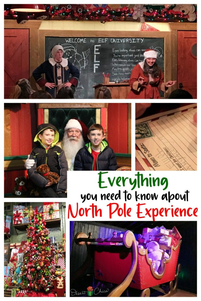 Pictures from the North Pole Experience in Flagstaff