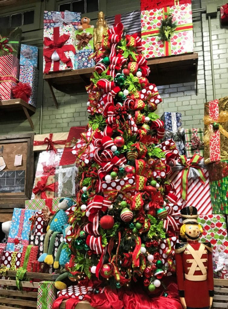 Christmas tree and pretty packages