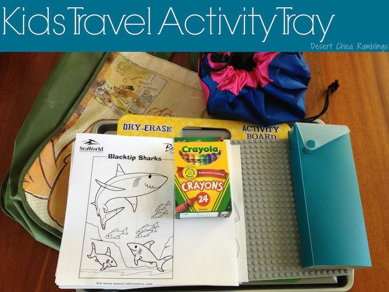 Kids Travel Activity Tray