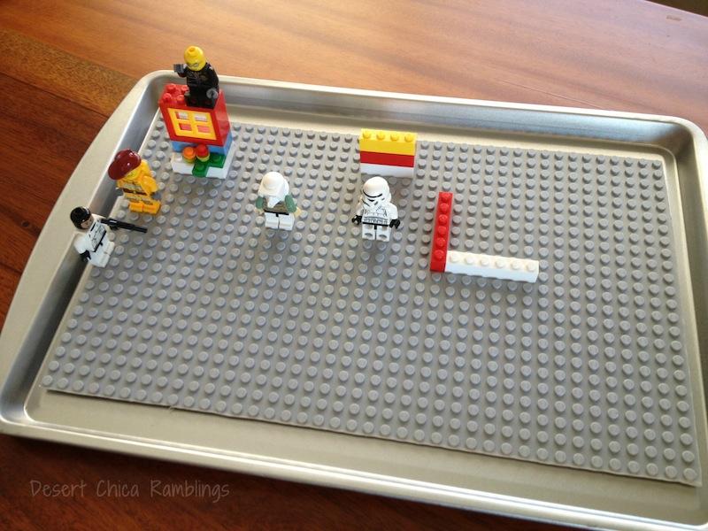 Lego Travel Activity Tray