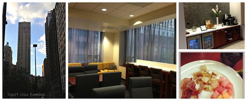 Hilton Chicago Executive Lounge