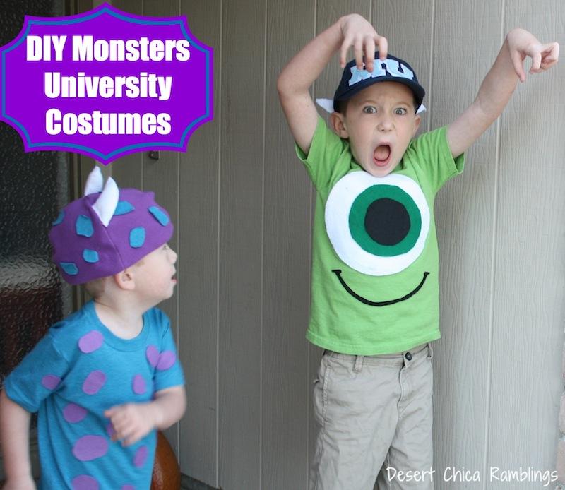 DIY Monsters University Costumes