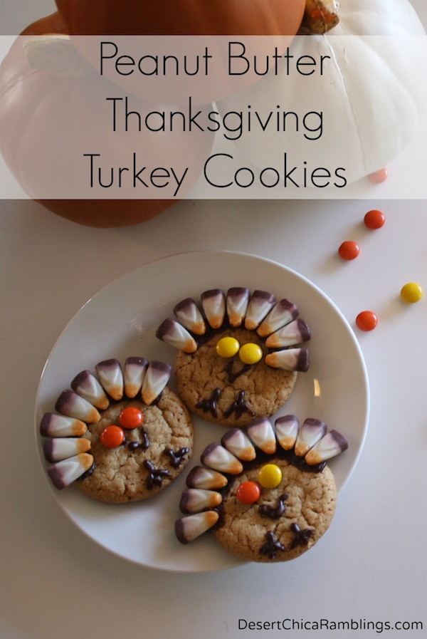 Peanut-Butter-Thanksgiving-Turkey-Cookies