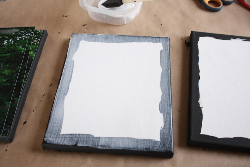 DIY Photo Canvas Gift Idea